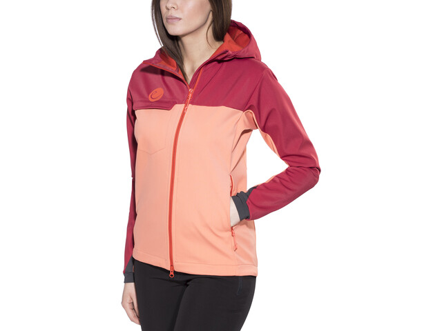 Klettergurt Gelbox : Edelrid rope rider zip hood women vinered lollipop campz.ch